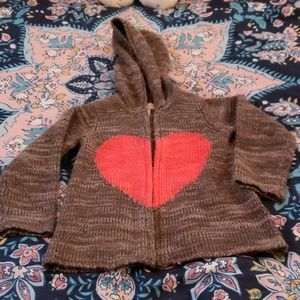 First impressions play sweater